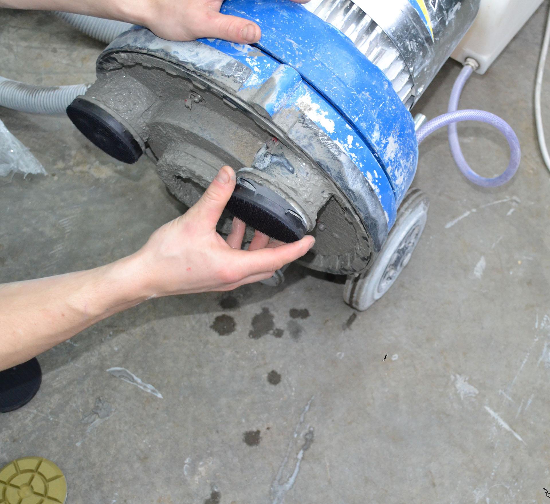 Шлифовка бетона вертолетами склерометры бетона купить